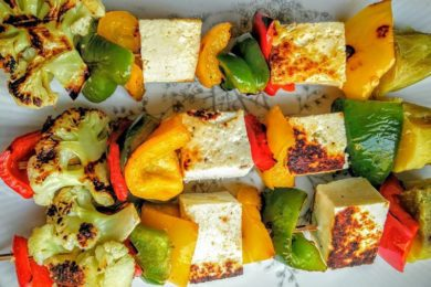 Paneer tikka with Veggies Recipe