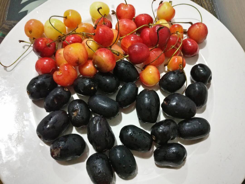 Cherries and Jamuns